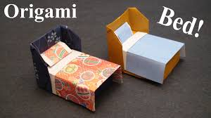 how to make a doll house bed bedding origami paper craft how to make a doll house bed bedding origami paper craft tcgames hd