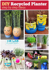 DIY Recycled planter how to recycle plastic and scrap for planters