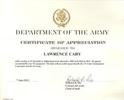 Army Award Certificate Templates Lovely 6 Army Appreciation ...