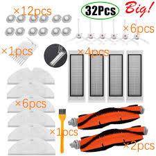 vacuum robot cleaner Parts <b>side brush Primary dust</b> Filter mop Hepa ...