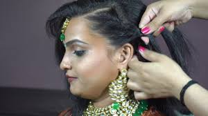 Indian Hair Style indian traditional hairstyle youtube 8718 by wearticles.com