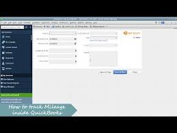How To Track Mileage How To Track Mileage In Quickbooks
