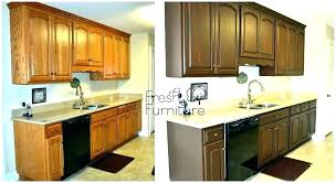 cabinet staining gel stain colors kitchen on oak cabinets black refinishing kitchener waterloo
