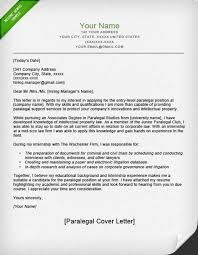 Paralegal Cover Letters Best Entry Level Attorney Cover Letter Zonazoom