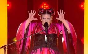 Nettas Eurovision Winner Toy Tops Billboards Dance Club