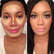cheek contour before and after. 13 unbelievable contouring before and afters from pinterest cheek contour after