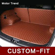 Custom Fit Car Trunk Mat For Audi A3 A4 A6 A7 A8 Q3 Q5 Q7 3d Car Styling Heavy Duty All Weather Tray Rugs Carpet Carg Car Trunk Automotive Upholstery Fit Car