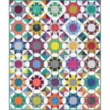 Zen Garden Quilt Kit featuring Splendor by Amy Butler Curved ... & Robert Kaufman Fabrics Blueberry Park Shimmer Quilt Kit 70 by 84 Adamdwight.com
