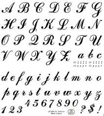 Letters By Number