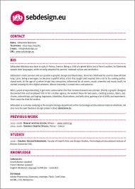resume design ideas - easy with a touch of personality