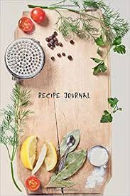 Recipe Journals Recipe Journal The Board Is Ready Cooking Journal Lined