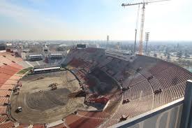 Los Angeles Memorial Sports Arena And Coliseum Seating Chart Coliseum Renovation Time Lapse Los Angeles Coliseum