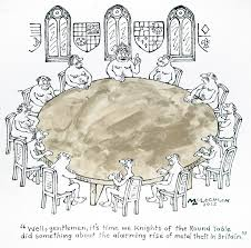 knights of the round table cartoon well gentlemen its time we knights of the round table