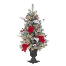 National Tree Company  Fiber Optic Christmas Trees  Artificial Sherwood Forest Christmas Trees