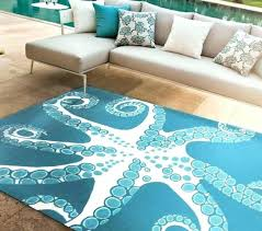starfish outdoor rug area beach themed rugs tropical sea star round with regard to theme inspirations
