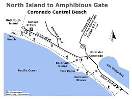 Tide Chart Coronado Coronado Beach From U S Naval Air Station North Island To