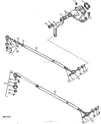 John deere parts diagrams john deere 1050 tractor pc1766 steering