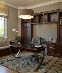 man cave home office. Man Cave Office Home Traditional With Roman Shade