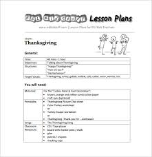 lesson plans sheet kindergarten lesson plan template 3 free word documents download
