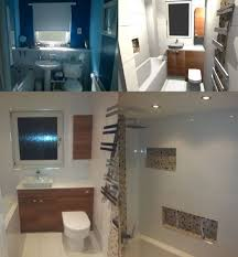 bathroom computer design before and after photos renovation in darnley area of glasgow in