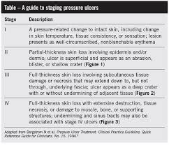 Pressure Ulcer Chart Combating Decubitus Ulcers Strategies For You And Your