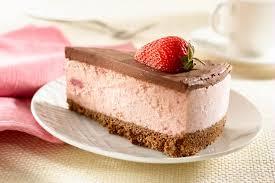 Strawberry And Chocolate Ice Cream Cake