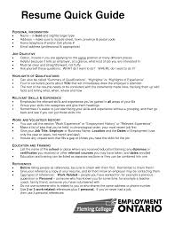 Quick Learner Resume Resume Templates
