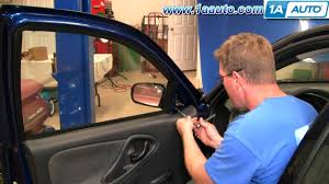 how to install replace manual side rear view mirror chevy cavalier rh you com repair manuals do yourself car repair manual