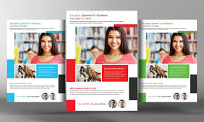 College Templates College Education Flyer Template By Business Templates On