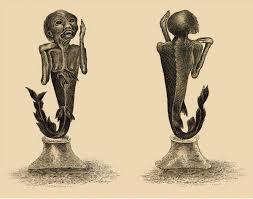 Максим Руссо Русалка сделай сам ПОЛИТ РУ Чучело русалки Гравюра 1822 года из собрания Британской библиотеки