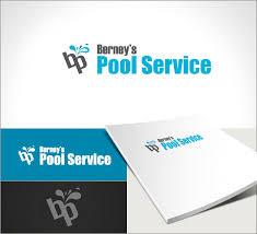 pool service logo. Berny\u0027s Pool Service Logo