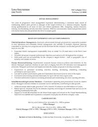 Store Manager Resume Sample Pdf Valid Store Manager Resume Sample