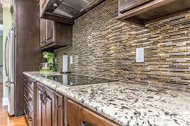 Kitchen With Glass Tile Backsplash Fascinating Kitchen Tile Image Galleries For Inspiration