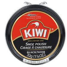 kiwi shoe polish black1 12 oz