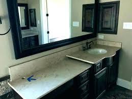 replacing bathroom vanity how