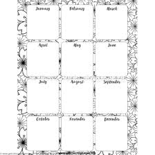 Free Yearly Planner Printable Getcoloringpages Org