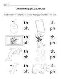 Our 2nd channel is on patreon! Consonant Digraph Ph Th Worksheet