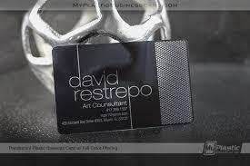 Portfolio My Plastic Business Card
