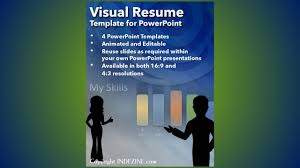 Visual Essay Example Video Resume Free Template Merchandiser Cover