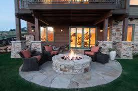 Patio Design Ideas With Fire Pits fire pit patio design ideas 5