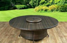 outdoor lazy susan large lazy turntable inch round dining modern outdoor ideas medium size top fabulous table glass rattan garden furniture lazy susan