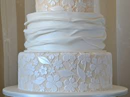 Amy Beck Cake Design Fabric And Lace This Cake Was Originally Designed By Amy