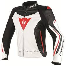 dainese assen leather jacket white black lava red rollover
