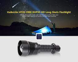 HaikeLite HT35 Uzun Menzilli El Feneri