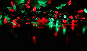 green outdoor lights photo 9