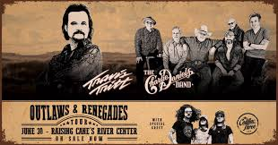 outlaws renegades tour featuring travis tritt charlie daniels band and cadillac 3 7 00pm river center arena