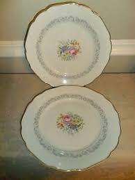 1950'S Dinnerware Patterns Stunning 48 HUTSCHENREUTHER THE GRAYMOOR 48 INCH DINNER PLATES BAVARIA C48