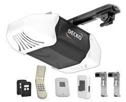 Decko 24503 3/4 Horse Power Heavy Duty Quiet Belt Drive Garage Door ...