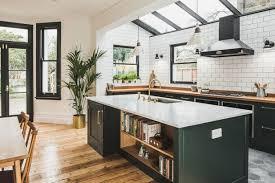 modern white and black kitchen. Kitchen Cabinet Ideas Modern White And Black Kitchen