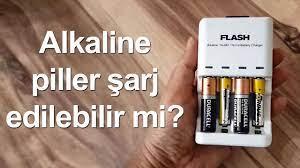 Alkaline piller şarj edilebilir mi? | Gayet güzel oluyor! - YouTube